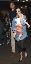 Kourtney Kardashian and Scott Disick With Their Son Mason Dash Disick