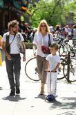 Kate Hudson and her son Ryder Robinson...