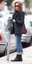 Katey Sagal Pays A Parking Meter In West Hollywood