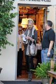 Katherine Heigl and her mother Nancy Heigl shop...