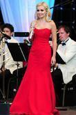 Katherine Jenkins, supported by The National Symphony Orchestra, performing at the Wigan Life Tuned-In Concerts 2010, held at the Haigh Hall and Country Park