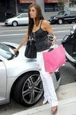 Katie Cleary Gets A Parking Ticket While Out Shopping On Sunset Boulevard