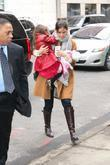 Katie Holmes and her daughter Suri Cruise