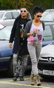 Alex Reid and Katie price shopping at Sainsbury's...