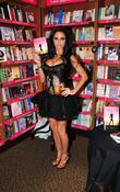 Katie Price, aka Jordan, at a booksigning at...