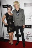 Kelly Osbourne and Luke Worrell  Charity Clothing...