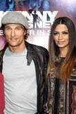 Matthew McConaughey, Camila Alves and KENNY CHESNEY