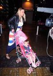 Kerry Katona and With Daughter Heidi Croft