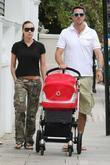 Kevin Pietersen and Jessica Taylor taking a stroll...