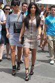 Kim Kardashian, her mother Kris Jenner attend a magazine signing event for womens publi