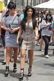 Kim Kardashian and her mother Kris Jenner attend a magazine signing event for womens publication 'Shape'