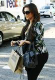 Kim Kardashian out shopping on Robertson Boulevard...