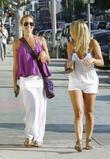 Kristin Cavallari and A Friend Leaving A Restaurant In La