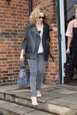 Kylie Minogue leaving her managements offices London, England