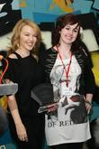 Kylie Minogue and Partron of Studyvox