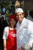 Alyssa Milano and Antonio Villaraigosa