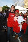 Zach Levi and Yvette Brown