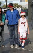 Michael Rappaport Celebrities arrive for the LA Lakers...