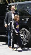 Andy Garcia and his son Andres