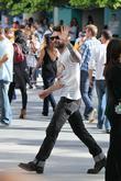 Adam Levine of Maroon 5 Celebrities arriving at...