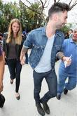 Adam Levine and Anne Vyalitsyna