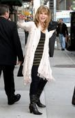 patty loveless outside the ed sullivan theater for