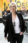 Jane Lynch, David Letterman