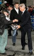 Harrison Ford gives an autograph to Radioman aka...