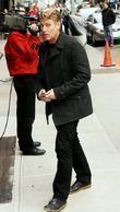 Joe Simpson and David Letterman