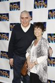 Alfred Molina and his wife Jill Gascoine-Molina attending the opening night of the Broadway play 'Lend Me A Tenor' at the Music Box Theatre.