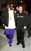 Snoop Dogg, Ed Sullivan and Russell Crowe