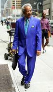 Allen Toussaint Celebrities outside Ed Sullivan Theatre for...