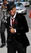 Ne-Yo,  at the Ed Sullivan theatre for...
