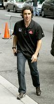 Dario Franchitti Celebrities at the Ed Sullivan Theater...