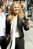 Kate Hudson Celebrities at the Ed Sullivan Theater...