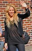 Shakira, David Letterman, Ed Sullivan