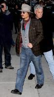 Johnny Depp, Ed Sullivan, The Late Show With David Letterman
