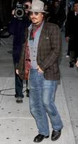 Johnny Depp, Ed Sullivan, The Late Show With David Letterman