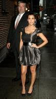 Kourtney Kardashian and David Letterman
