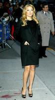 Kate Hudson and David Letterman