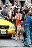 Katy Perry and David Letterman