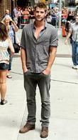 Liam Hemsworth and David Letterman