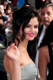 Selena Gomez and David Letterman