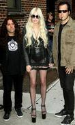 Taylor Momsen, David Letterman and The Pretty Reckless