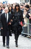 Naomi Campbell, Alexander McQueen and Cathedral