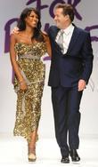 Naomi Campbell and Piers Morgan