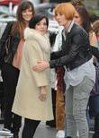 Lily Allen and Mary Portas