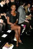 Shingai Shoniwa from the Noisettes London Fashion Week...