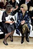 Anna Wintour and Nicole Farhi