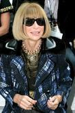 Anna Wintour London Fashion Week Spring/Summer 2011 -...